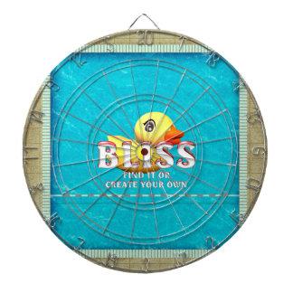TEE Bliss Dartboard With Darts