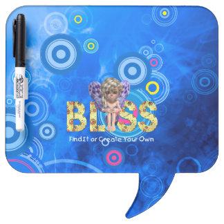TEE Bliss Slogan Dry-Erase Board