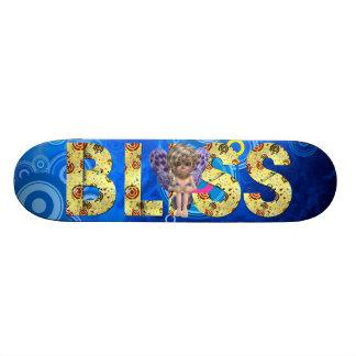TEE Bliss Slogan Skateboard Deck