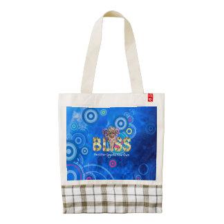 TEE Bliss Slogan Zazzle HEART Tote Bag