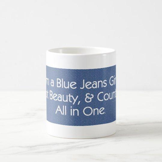TEE Blue Jeans Girl Coffee Mug