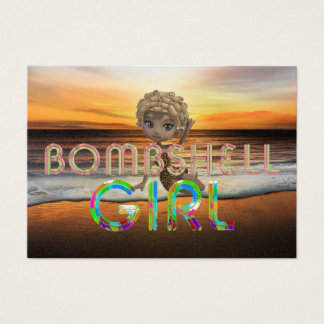 TEE Bombshell Girl Business Card