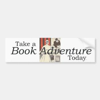 TEE Book Adventure Car Bumper Sticker