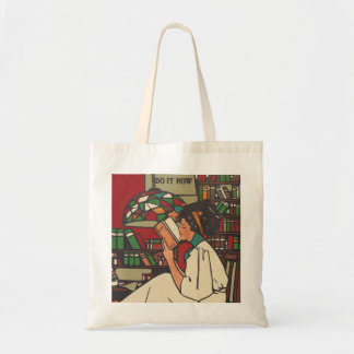 TEE Book Worm Tote Bag