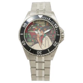 TEE Book Worm Wrist Watch