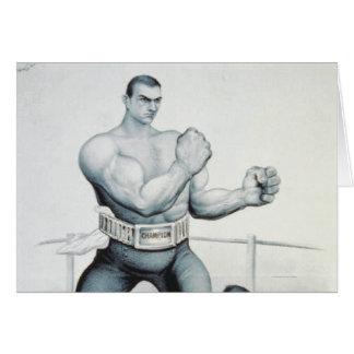 TEE Boxing Card