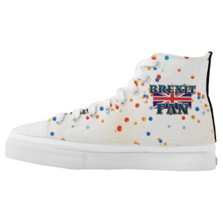 TEE Brexit Fan Printed Shoes
