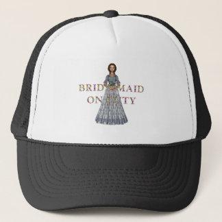 TEE Bridesmaid On Duty Trucker Hat
