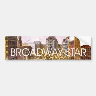 TEE Broadway Star Bumper Sticker