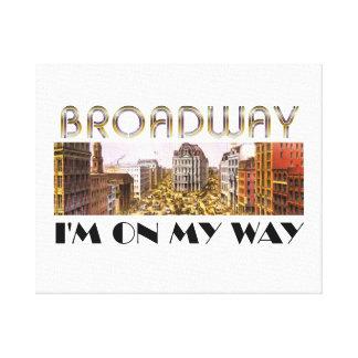 TEE Broadway Star Canvas Print