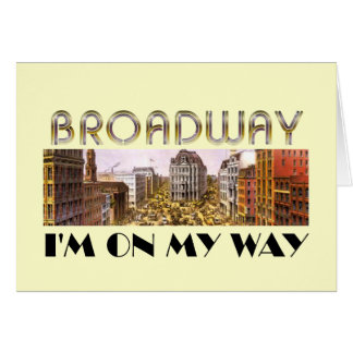 TEE Broadway Star Card