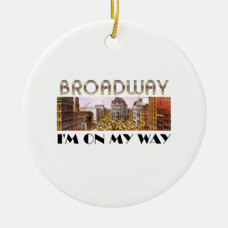 TEE Broadway Star Ceramic Ornament