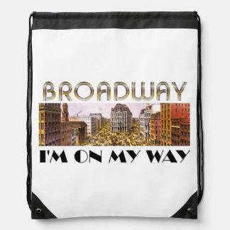 TEE Broadway Star Drawstring Bag