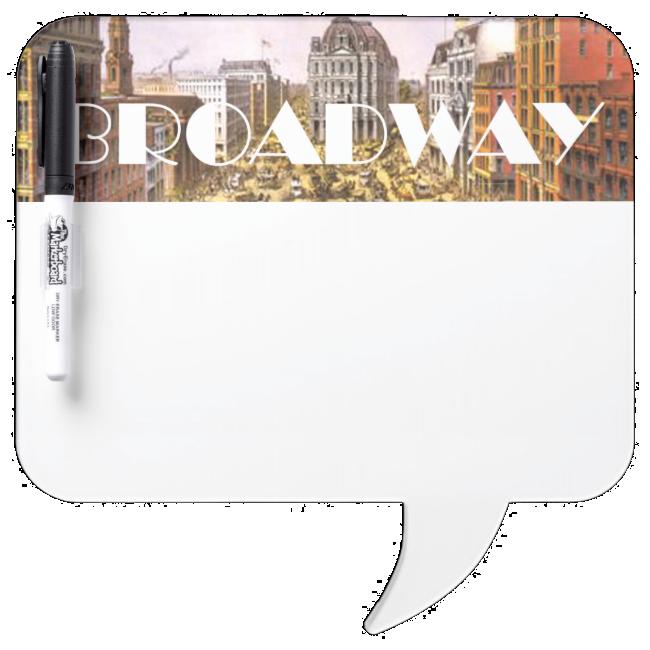 TEE Broadway Star Dry-Erase Whiteboards