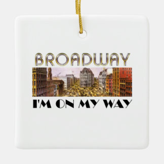 TEE Broadway Star Ornament