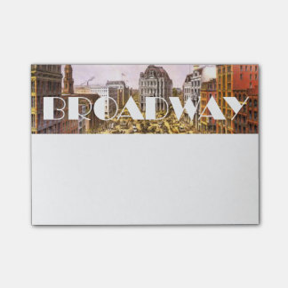 TEE Broadway Star Post-it Notes
