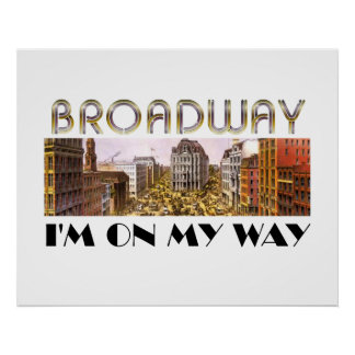 TEE Broadway Star Poster