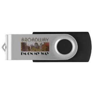 TEE Broadway Star Swivel USB 2.0 Flash Drive
