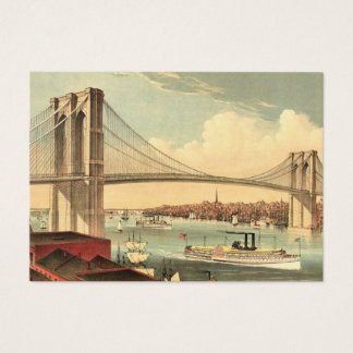 TEE Brooklyn Bridge Business Card