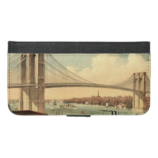 TEE Brooklyn Bridge iPhone 6/6s Plus Wallet Case