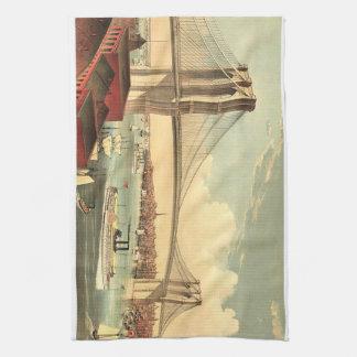 TEE Brooklyn Bridge Kitchen Towel