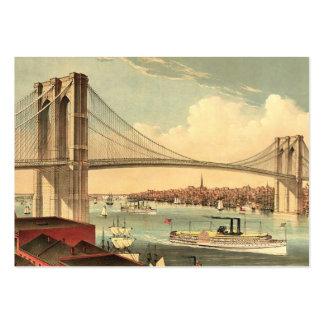 TEE Brooklyn Bridge Large Business Cards (Pack Of 100)