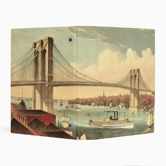 TEE Brooklyn Bridge Mini Binder