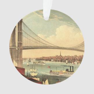 TEE Brooklyn Bridge Ornament