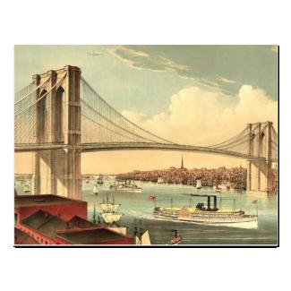 TEE Brooklyn Bridge Postcard