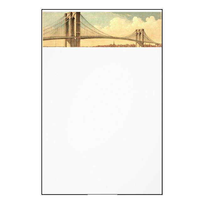TEE Brooklyn Bridge Stationery