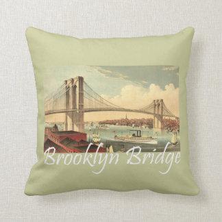 TEE Brooklyn Bridge Throw Pillow