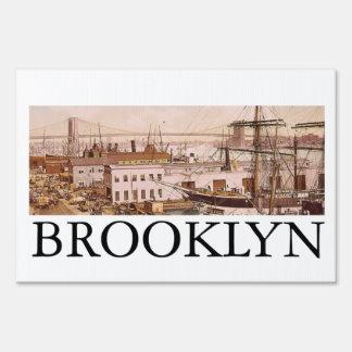 TEE Brooklyn Lawn Sign