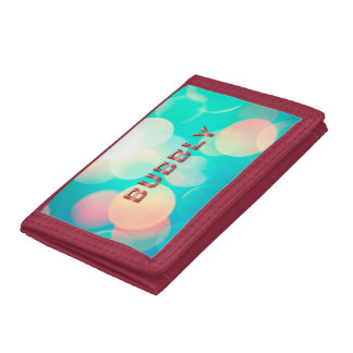 TEE Bubbly Trifold Wallet