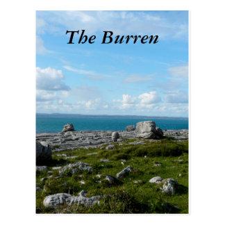 Tee Burren Postcard
