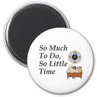 TEE Busy Time Magnet