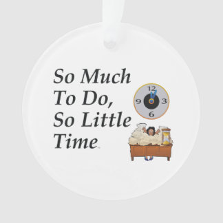 TEE Busy Time Ornament