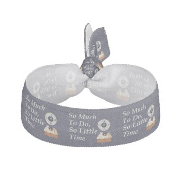 TEE Busy Time Ribbon Hair Tie
