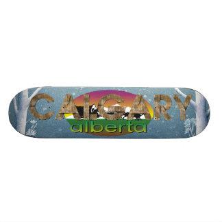 TEE Calgary Skate Deck