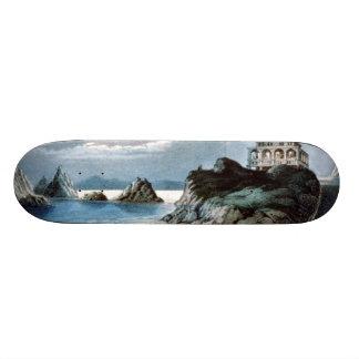 TEE California Coast Skate Deck