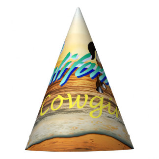 TEE California Cowgirl Party Hat