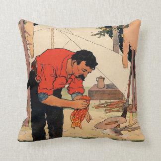 TEE Camp Life Throw Pillows