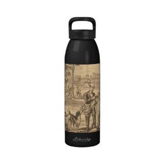 TEE Camping Old School Reusable Water Bottles