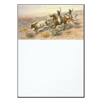 TEE Cattle Drive 5x7 Paper Invitation Card