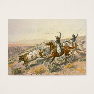 TEE Cattle Drive Business Card