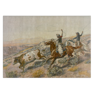 TEE Cattle Drive Cutting Boards