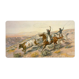 TEE Cattle Drive Label