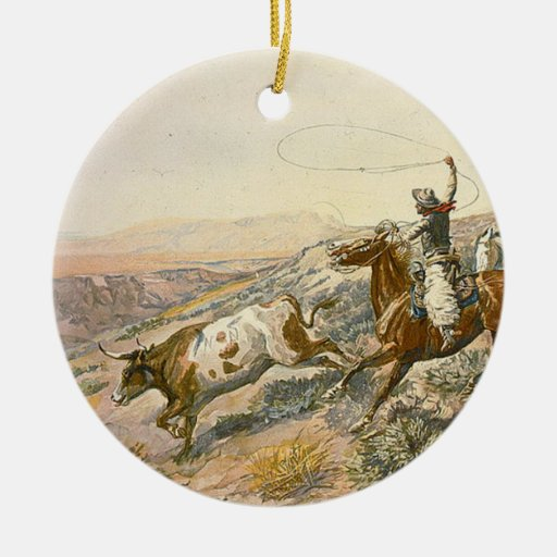 TEE Cattle Drive Ornaments