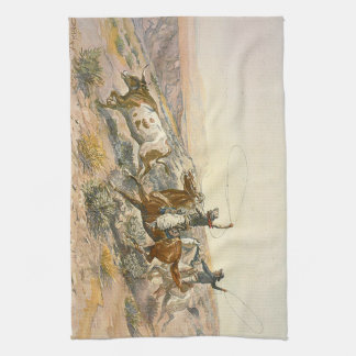 TEE Cattle Drive Towel