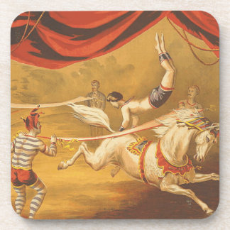 TEE Circus Act Beverage Coasters