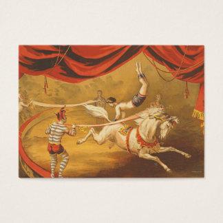 TEE Circus Act Business Card